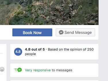 Tiempo de respuesta Facebook