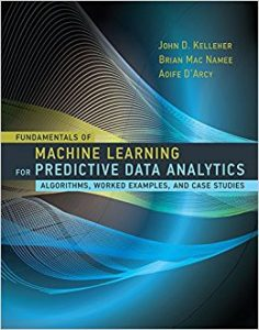 Machine Learning for predictive data analytics